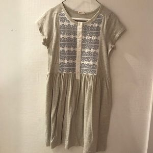 Crewcuts (very cute) embroidered dress!